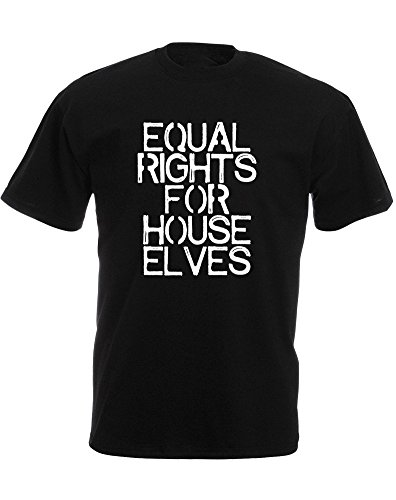 equal-rights-for-house-elves-mens-printed-t-shirt-black-white-s