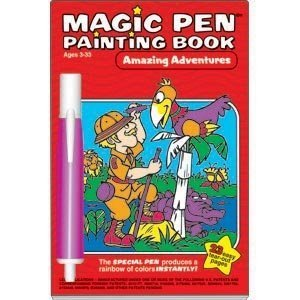 Amazing Adventures Magic Pen Painting Book - 1