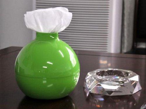 ペーパーポッド 壺型 トイレットペーパーホルダー グリーン