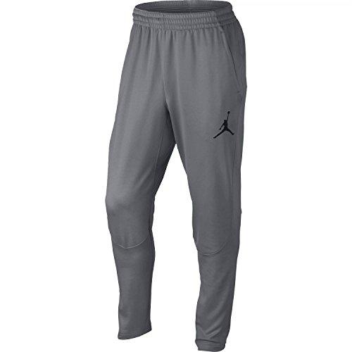 Nike Mens Jordan 360 Fleece Tapered Sweatpants Cool Grey/Black 808691-065 Size Large