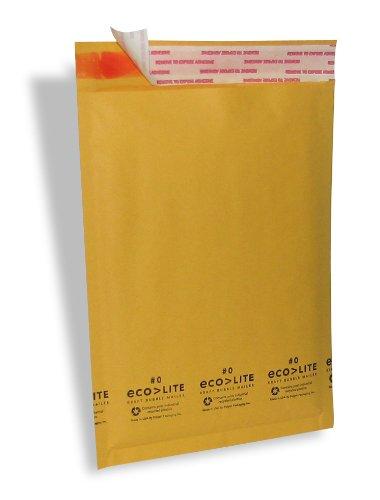 Ecolite Kraft Bubble Mailer, #0, 6.5