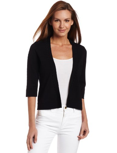 Pendleton Women's Jackie Cardigan, Black, X-Small