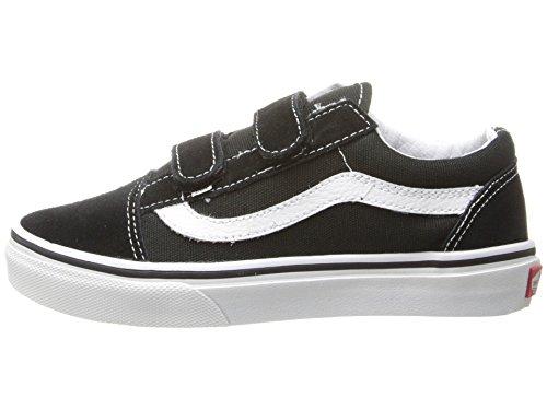 Boy's Vans 'Old Skool V' Sneaker, Size 13 M - Black