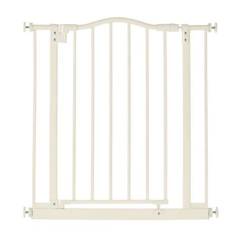 North States Industries Supergate Wide Portico Arch Gate, Linen