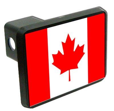 Canada Flag Trailer Hitch Cover 1.25