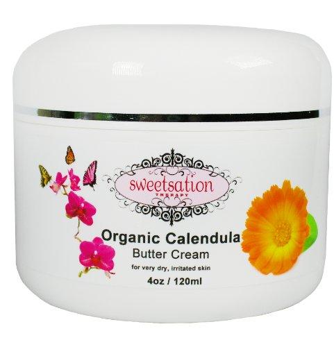 Organic Calendula Baby Butter Cream, 4oz
