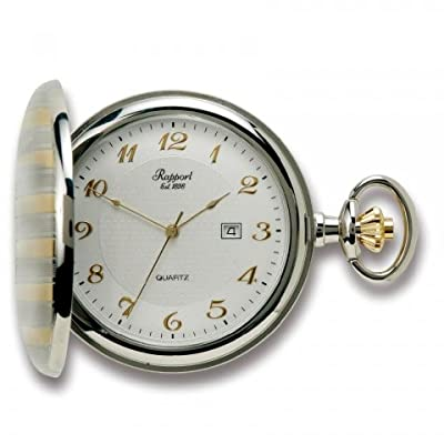 Rapport Pocket Watch PW92 Two Tone Full Hunter