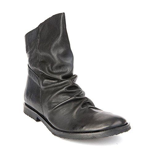 Felmini - Scarpe Donna - Innamorarsi com Clash 9071 - Stivaletti Cowboy & Biker - Genuine Pelle - Nero - 36 EU Size