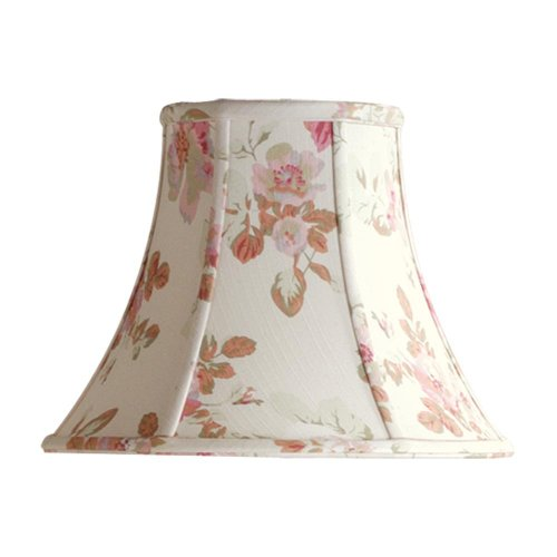 Laura Ashley SLL25111 Stowe 11-Inch Bell Shade, Floral