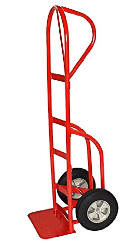 Milwaukee Hand Trucks 40815 P-Handle Truck With 10-Inch Puncture Proof Tires And Stair Climbers front-452752