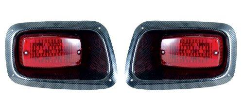 Ez-Go Golf Cart-Go Golf Cart Go Txt Headlights,Led Taillights & Wire Harnessblack
