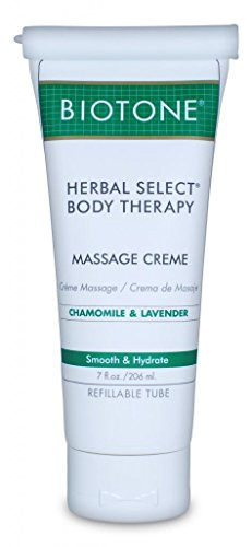 Biotone Herbal Select Body Therapy Massage Creme - 7 Oz