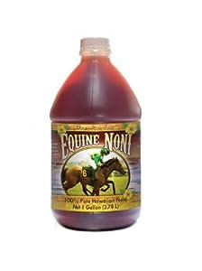 Equine Noni - 100% Pure Hawaiian Noni Juice for Horses and Pets - 1 gallon (128oz)