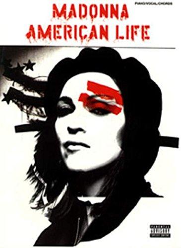 Madonna: American Life: Piano/Vocal/Guitar