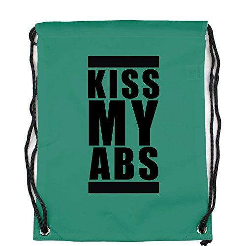 kiss-my-abs-logo-motiv-auf-gymbag-turnbeutel-sportbeutel-stylisches-modeaccessoire-tasche-unisex-ruc