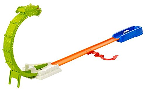 Hot Wheels City Snake Smasher Track set