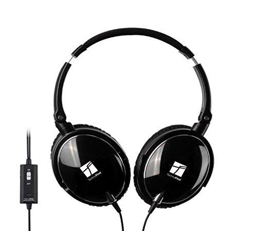 Casque Lite 2 audio HD à réduction active de bruit noir