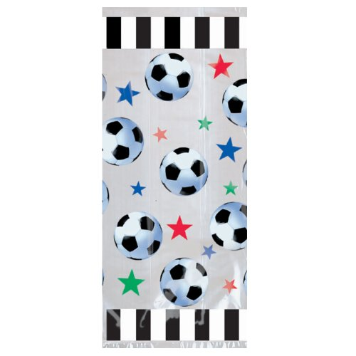 Soccer Treat Bags Party Accessory by CoolGlow - 1