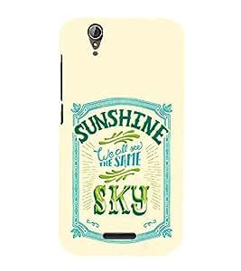 99Sublimation Sunshine and sky 3D Hard Polycarbonate Designer Back Case Cover for Acer Liquid Z630 :: Acer Liquid Z630S