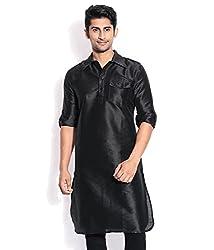 Royal occassioanl Silk Blended Pathani Kurtas For Men