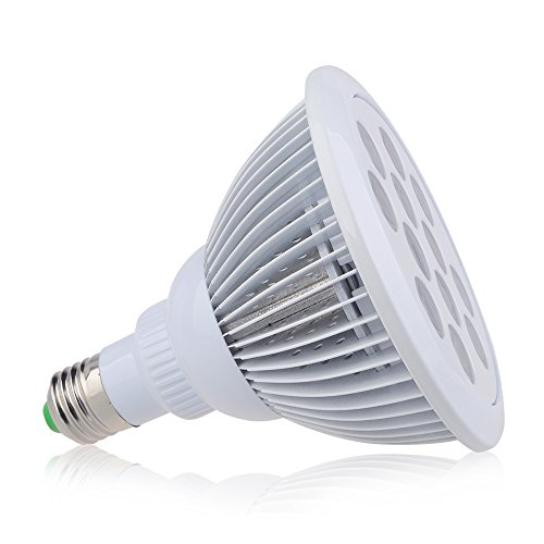 Iegeek 36w 12 led plant grow lights indoor garden led for Indoor gardening light bulbs