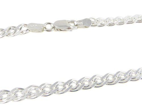 [925 Sterling Silver 1.7 mm Nonna Chain Size: 18 20 22 24 inch (20