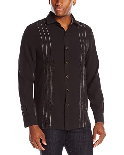 Nat Nast Men's Weber Long Sleeve Waffle Shirt