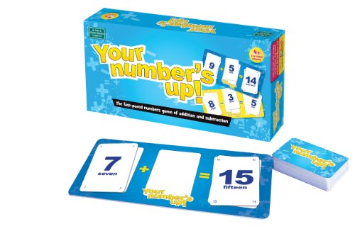 Imagen principal de Green Board Games Your Number's Up - Juego educativo de matemáticas (importado de Reino Unido)