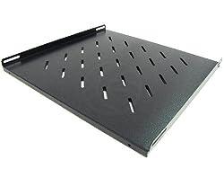 Cablematic - Bandeja para rack de fijación lateral F450 para MobiRack