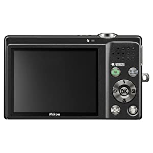 Nikon Coolpix S570 12MP Digital Camera with 5x Wide Angle Optical Vibration Reduction (VR) Zoom and 2.7-Inch LCD (Black)