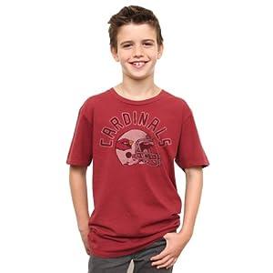 NFL Arizona Cardinals Youth Kickoff Crew T-Shirt, Rad by Junk Food
