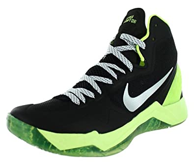 Nike Mens Zoom Hyperdisruptor Basketball Shoes Sport Night Stadium/Volt/Pure Platinum 548180-003 Size 8.5