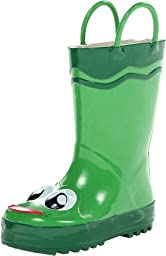 Western Chief Kids Frog Rain Boot(Toddler/Little Kid/Big Kid),Green,12 M US Little Kid