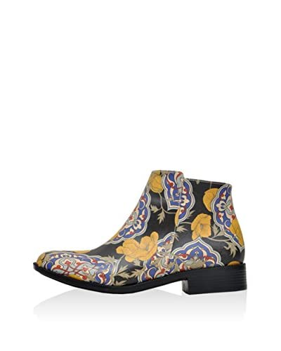 DOGO Ankle Boot Tiles An Flowers