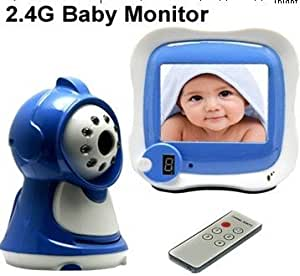 mar 2014 new wireless baby monitor receiver with built in microphone ir camera. Black Bedroom Furniture Sets. Home Design Ideas