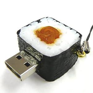 ソリッドアライアンス SushiDiskなの?すとらっぷ かんぴょう巻き2GB SNKA-02G