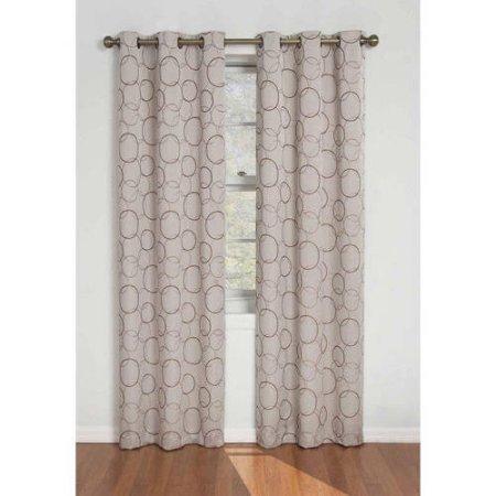 Eclipse Zodiac Energy-Efficient Curtain Panel /Size: 42x84 /Actual Color: Linen (Eclipse Blackout Panel Zodiac compare prices)