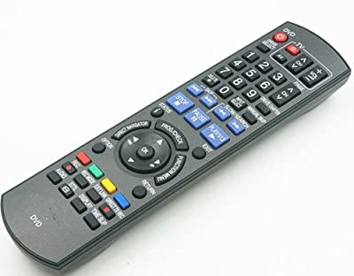 Universal Remote Control for N2QAYB000230 Fit for Panasonic Blue Ray DVD Player