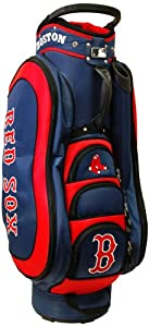 MLB Boston Red Sox Medalist Cart Golf Bag, Navy by Team Golf