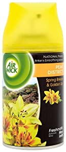 Air Wick Freshmatic Max Refill - Peak District Spring Breeze and Golden Lily 250 ml (Pack of Two)