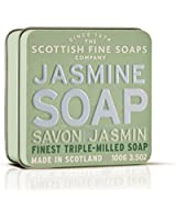 Scottish Fine Soaps Jasmine Floral Soap Tin  Soap 100g