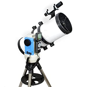 "TwinStar White 6"" iOptron Computer Controlled Reflector Telescope"