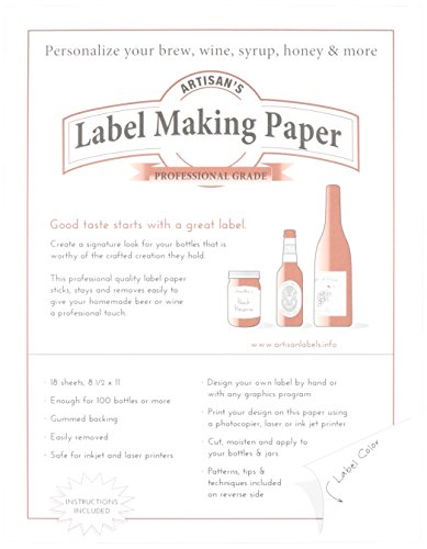 Label Making Paper, White (Beer Label Paper compare prices)