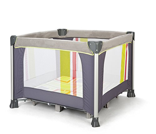Delta Children Elite Comfort Play Yard, Urban Edge