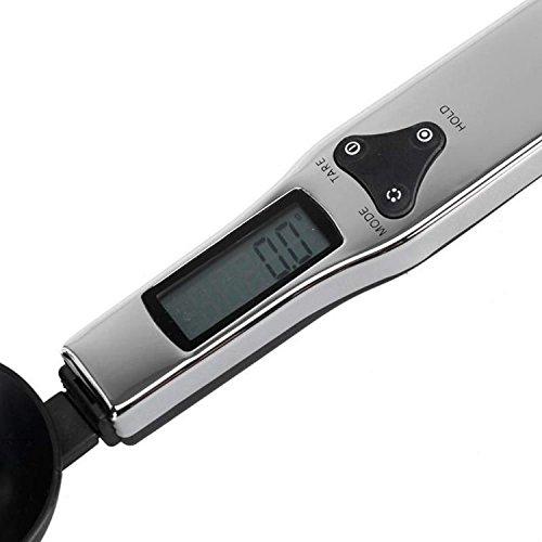 fenguh Pour Cuillere doseuse digitale 500g/0.1g numerique electronique cuillere balance