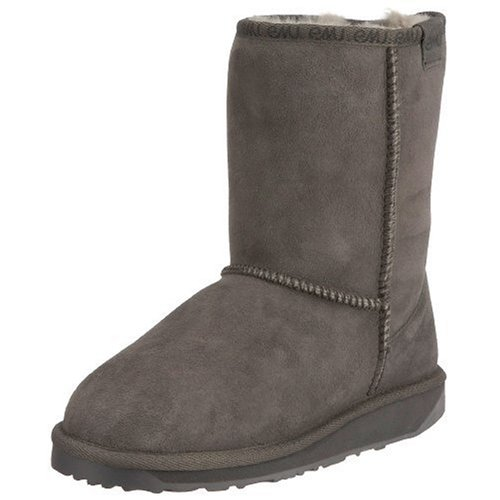 Emu Women's Stinger Lo Charcoal Mid Calf Boots