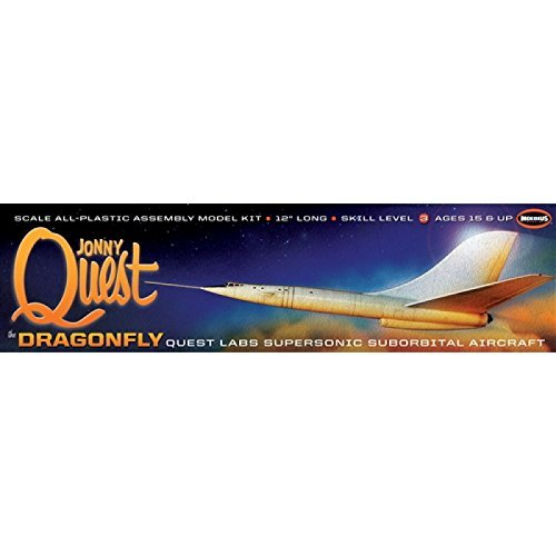 MOEBIUS MODELS Johnny Quest Dragonfly by Moebius Models (Johnny Quest Figures compare prices)