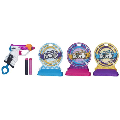 Nerf Rebelle Knock Out Gallery Set - 1