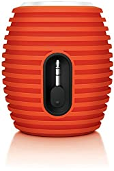 Philips SBA3010ORG/00 Sound Shooter Portable Speaker (Orange)