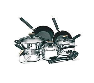 Paula Deen Signature 12-pc. Stainless Steel Cookware Set